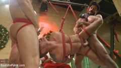 Rex Cameron - Muscled submissive whored out by santa for the holidays (Thumb 12)