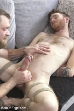 Seamus O'Reilly - Online Hookup Ends With Tickling and Edging in Bondage for a Hung Ginger (Thumb 16)