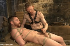 Sebastian Keys - Dockworker gets taken down and fucked by a leather dom (Thumb 10)