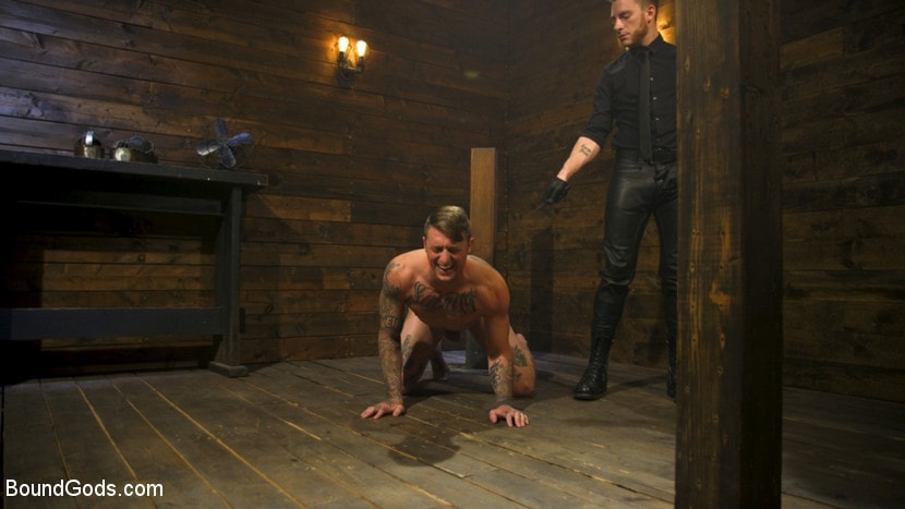 Kink Men 'Embrace The Pain: Straight Stud Slave Training' starring Sebastian Keys (photo 5)