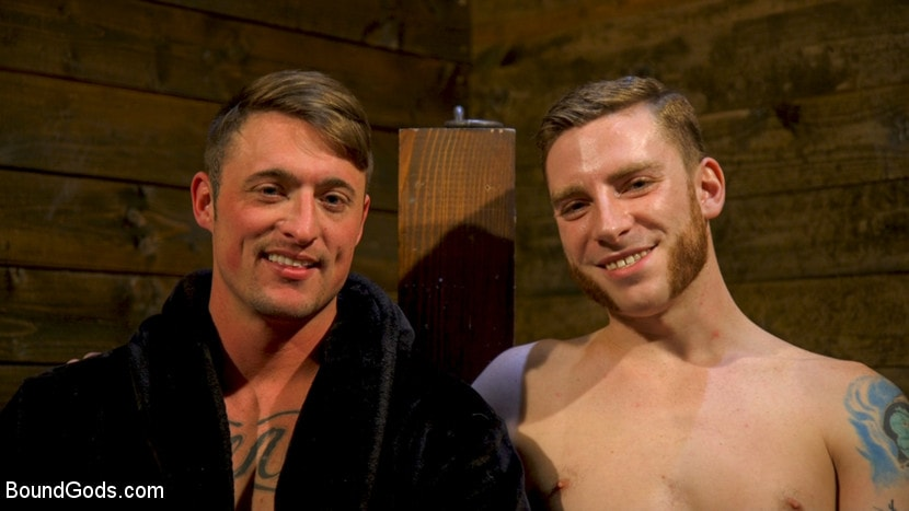 Kink Men 'Embrace The Pain: Straight Stud Slave Training' starring Sebastian Keys (photo 23)