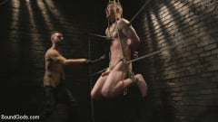 Sebastian Keys - Slave boy with a giant cock submits to the whims of Mr Keys (Thumb 09)