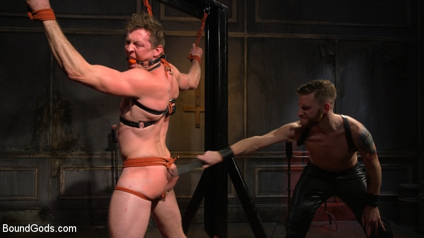 Kink Men 'Sore Loser: Muscle stud Pierce Paris Gets Beat and Foot-Fucked' starring Pierce Paris (photo 2)