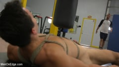 Shay Stone - Hairy Hunk Shay Stone Gets Bound, Tickled, and Edged (Thumb 06)