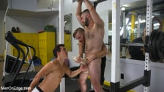 Shay Stone - Hairy Hunk Shay Stone Gets Bound, Tickled, and Edged (Thumb 10)