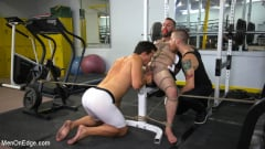 Shay Stone - Hairy Hunk Shay Stone Gets Bound, Tickled, and Edged (Thumb 11)