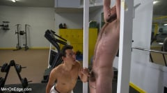 Shay Stone - Hairy Hunk Shay Stone Gets Bound, Tickled, and Edged (Thumb 13)