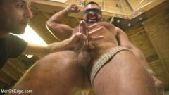 Steven Roman - Beefy mechanic taken down and edged against his will (Thumb 04)