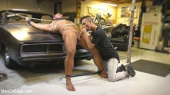 Steven Roman - Beefy mechanic taken down and edged against his will (Thumb 10)