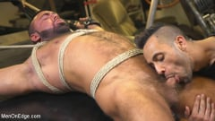 Steven Roman - Beefy mechanic taken down and edged against his will (Thumb 14)