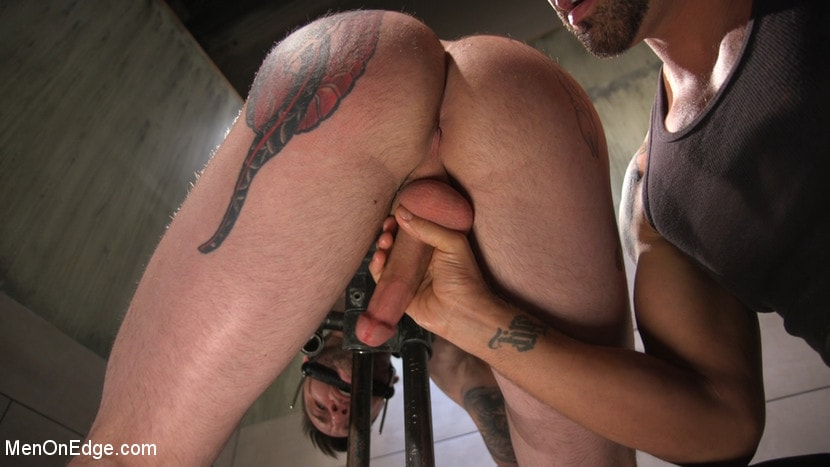 Kink Men 'Teddy Bryce Gets Tied Up, Locked Down And Edged Hard' starring Teddy Bryce (photo 12)