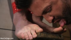 Teddy Bryce - Teddy Bryce Gets Tied Up, Locked Down And Edged Hard (Thumb 09)