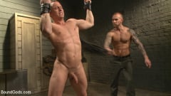Tommy Regan - Enhanced Interrogation: Detained Stud Faces a Horny, Sadistic Agent (Thumb 01)