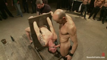 Trent Diesel - Trent Diesel Bound and suspended upside down while brutally fucke