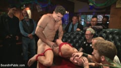Trenton Ducati - Go-go dancer serves his bar with mouth and ass for SF Pride (Thumb 10)