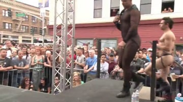 Trenton Ducati - Public Whore Doused with Piss on the Folsom Stage