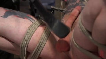 Trenton Ducati - Ripped God Teddy Bryce Fucked and Beaten in Rope Bondage by Hot Stud!