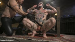 Trenton Ducati - Ripped God Teddy Bryce Fucked and Beaten in Rope Bondage by Hot Stud! (Thumb 03)
