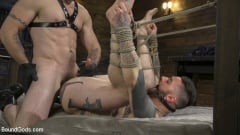 Trenton Ducati - Ripped God Teddy Bryce Fucked and Beaten in Rope Bondage by Hot Stud! (Thumb 18)