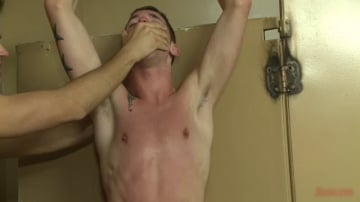 Tripp Townsend - Bathroom pig whored out to the horny public