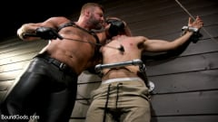 Zak Bishop - Daddy's Boy: Leather Daddy Colby Jansen dominates Zak Bishop (Thumb 01)