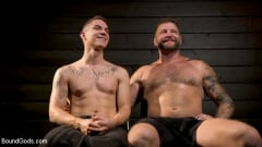 Zak Bishop - Daddy's Boy: Leather Daddy Colby Jansen dominates Zak Bishop (Thumb 20)