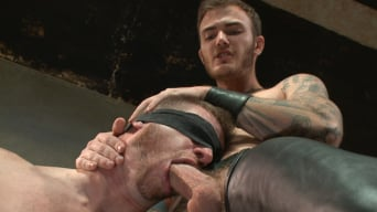 Christian Wilde in 'Are you ready to serve me today, boy.'