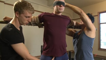 Owen Michaels in 'Brand new straight stud gets his hard cock edged'