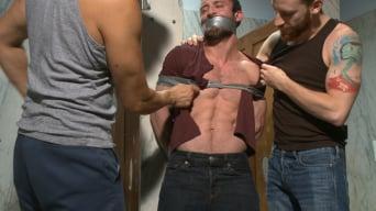 Mike Gaite in 'Edging a hot cop in a public restroom'