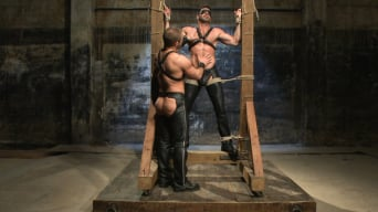 Billy Santoro in 'House dom Dirk Caber and a new muscle god'