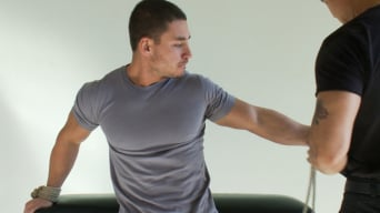 Marc Dylan in '- The Bodybuilder'