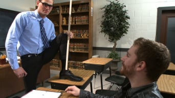 John Smith in 'Straight professor gets edged and dildo fucked in the classroom'