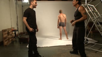 John Smith in 'Straight stud bound, edged and milked multiple loads'