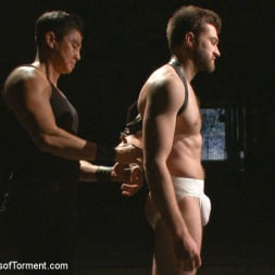 Abel Archer in 'Kink Men' Bi jock with no BDSM experience gets tormented to the extreme (Thumbnail 3)