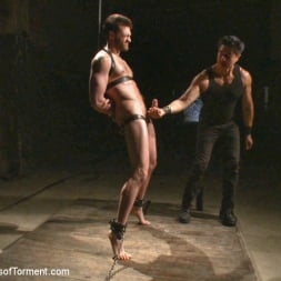 Abel Archer in 'Kink Men' Bi jock with no BDSM experience gets tormented to the extreme (Thumbnail 4)