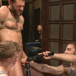 Abel Archer in 'Kink Men' Bound Abel Archer Cums (Thumbnail 12)