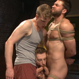 Abel Archer in 'Kink Men' Bound Abel Archer Cums (Thumbnail 14)