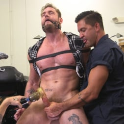 Ace Era in 'Kink Men' Muscle Stud Ace Era Dominated in Rope Bondage and Edged to Cum! (Thumbnail 3)