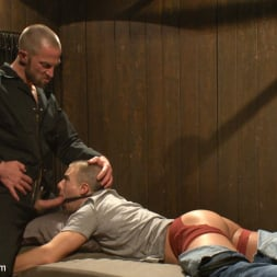 Adam Herst in 'Kink Men' Helpless stud's torturous ordeal at the hands of a twisted pervert (Thumbnail 11)