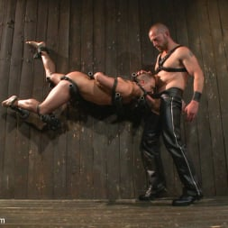 Adam Herst in 'Kink Men' Helpless stud's torturous ordeal at the hands of a twisted pervert (Thumbnail 17)