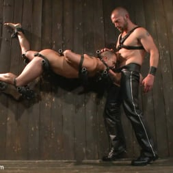 Adam Herst in 'Kink Men' Helpless stud's torturous ordeal at the hands of a twisted pervert (Thumbnail 19)