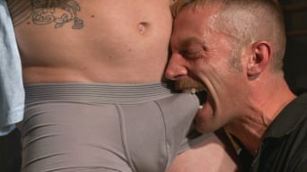 Adam Herst in 'New captive bound, beaten and electrified'