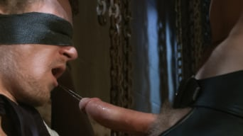 Adam Herst in 'Perverted Leather Daddy and His Helpless Captive'