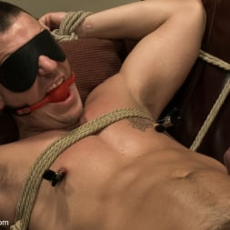 Adam Knox in 'Kink Men' Hot physique model is curious about edging and bondage (Thumbnail 3)