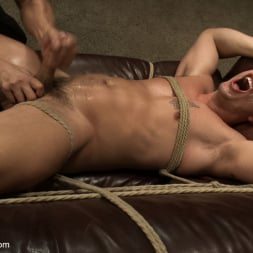 Adam Knox in 'Kink Men' Hot physique model is curious about edging and bondage (Thumbnail 8)