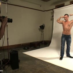 Adam Knox in 'Kink Men' Hot physique model is curious about edging and bondage (Thumbnail 15)