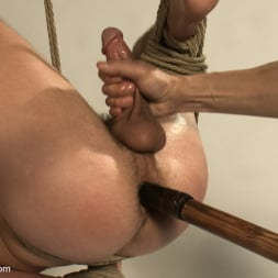 Adam Knox in 'Kink Men' Hot physique model is curious about edging and bondage (Thumbnail 22)