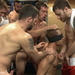 Alex Adams in 'Kink Men' Loudmouth Gym Freak Fucked and Pissed on in Boxing Gym Locker Room (Thumbnail 2)