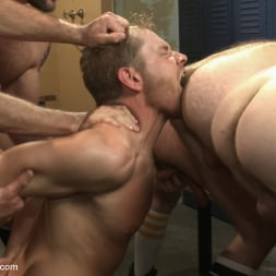 Alex Adams in 'Kink Men' Loudmouth Gym Freak Fucked and Pissed on in Boxing Gym Locker Room (Thumbnail 13)