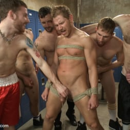 Alex Adams in 'Kink Men' Loudmouth Gym Freak Fucked and Pissed on in Boxing Gym Locker Room (Thumbnail 14)